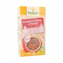 Receta bulgur Pimiento chili Ecológico vegano Primeal