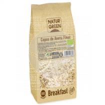 Copos De Avena Finos sin gluten Bio NaturGreen
