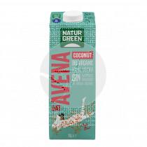 Bebida vegetal de avena y coco Bio 1 lt Natur-Green
