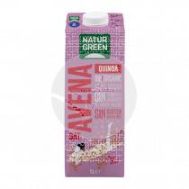 Bebida vegetal avena y quinoa bio sgluten 1lt Natur-Green
