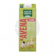 Bebida vegetal de avena y sésamo bio 1lt Natur-Green