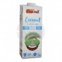 Bebida Vegetal De Coco sin Azucar con Calcio Bio 1Litro Ecomil