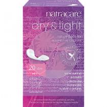 Dry & light Compresas Ligeras Para La Incontinencia Natracare