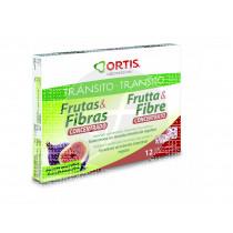 Frutas y Fibras concentrado 12 Cubitos Ortis