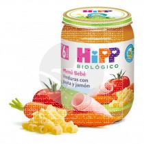Potito De Verduras con Pasta y Jamón Bio 6M Hipp