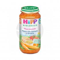 Potito Bio Pasta con Tomate y Ternera 12 Meses Hipp