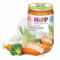 Potito Bio Verduras y Arroz con Pavo 12 Meses Hipp