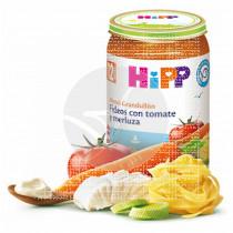 Potito Bio de Fideos con Tomate y Merluza 12 Meses Hipp