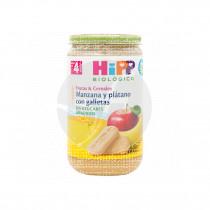 Potito Bio de Manzana y Plátano con Galletas 4 Meses Hipp
