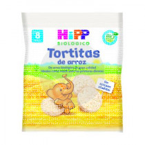 Tortitas De Arroz Bio 8M Hipp