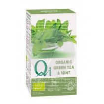 Infusion de te verde con menta Qi