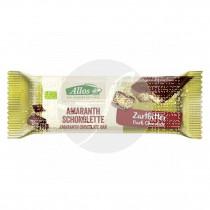 Barritas de Amaranto con Chocolate Negro Bio Allos
