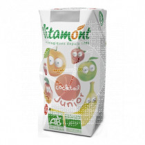 Zumo Multifrutas Cocktail Junior Bio Vitamont