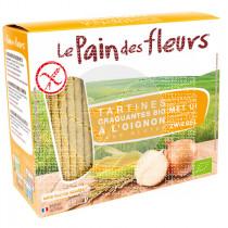 Tostadas De Pan con Cebolla Le Pain Des Fleurs