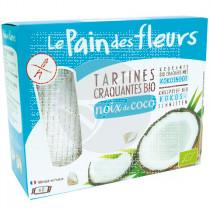 Tostadas De Pan con Coco Sin gluten 150gr Le Pain Des Fleurs