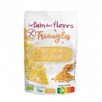 Triángulos Maíz y Cúrcuma 50Gr Le Pain Des Fleurs