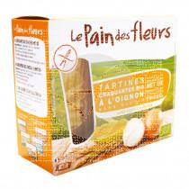Crackers de cebolla aperitif 150g bio, veg, sin gluten Le Pain Des Fleurs