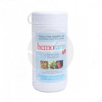 HEMOFARM PLUS BOTE TOALLITAS HIGIENICAS