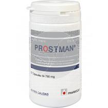 Prostman 50 capsulas 790 Mg Fharmocat Gandia