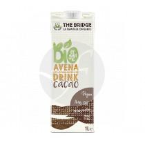 Bebida vegetal de avena con cacao bio The Bridge