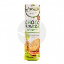 Galletas rellena de Chocolate con Avellanas Bio 300 gr Bisson