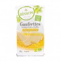 Gaufrettes wafers limón bio vegano Bisson