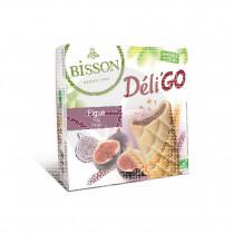 Galleta Deli go Higos Bio 150gr Bisson