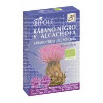Rabano Negro y Alcachofa Biologico Depurativo 20 viales Intersa