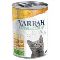 Paté De Pollo Para Gatos Lata 400Gr Yarrah