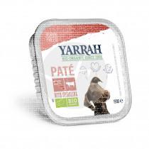 tarrina Comida Para Perros con Ternera y Espirulina Bio Yarrah