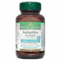 Acidophilus comprimidos Masticalbes sabor Fresa Nature´S Bounty