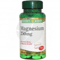 Magnesio 250mg Nature´s Bounty