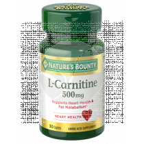 CARNITINA 500MG NATURE´S BOUNTY