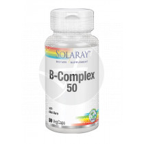 Vitamina B Complex 50 50capsulas Solaray