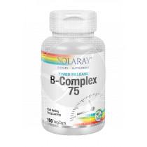 VITAMINA B COMPLEX 75 100CAPSULAS SOLARAY