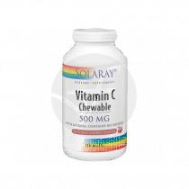 Vitamina C Masticable sabor Cereza 500Mg Solaray