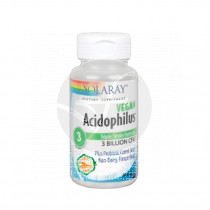 ACIDOPHILUS 3 TRIPLE STRAIN FORMULA VEGAN SOLARAY