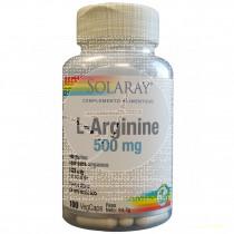 L Arginina 500Mg 100 capsulas Solaray