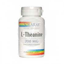 L-Theanine 200Mg 45 capsulas Solaray