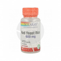 Red yeast Rice Levadura Roja De Arroz 45 capsulas Solaray