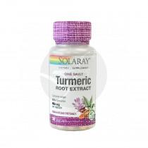 Turmeric Extracto De Curcuma 600Mg 30 capsulas Solaray