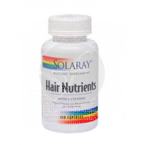 Hair Nutrients 120Cap Solaray