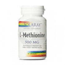 L-Metionina 500Mg 30 capsulas Solaray