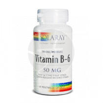 Vitamina B6 50Mg capsulas Solaray