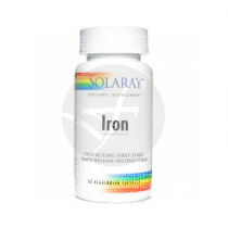Iron 25Mg 60 capsulas Solaray