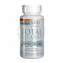 Total Cleanse Uric Acid 60 Capsualas Solaray