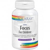 Focus For Children 60 Comp Mas Solaray