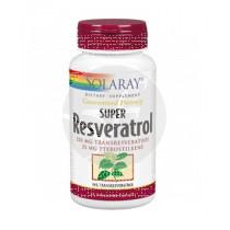 Super Resveratrol 250Mg Solaray