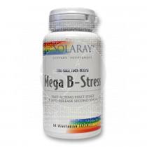 Mega B-Stress 60 capsulas Solaray