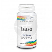 Lactase 40Mg Mas Calcio 100 capsulas Solaray